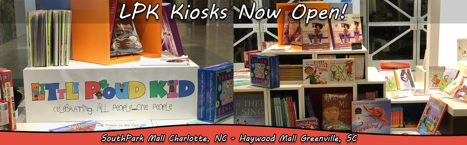 Kiosks now Open!
