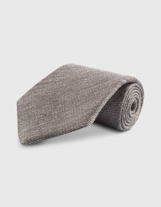 COLLECTION 19-115.|KRAWATTE LINEN. GRAU