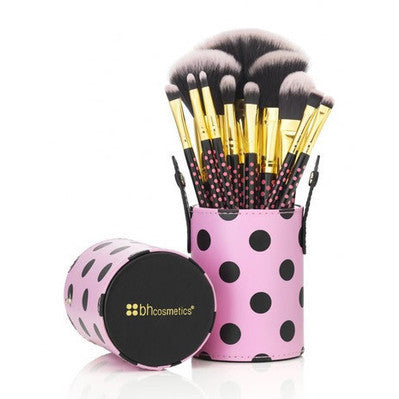 BH Cosmetics 11 pc Pink-A-Dot Brush Set