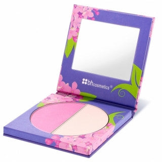 BH Cosmetics BH Floral Blush Duo LILAC