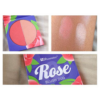 BH Cosmetics BH Floral Blush Duo ROSE