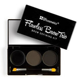 BH Cosmetics Flawless Brow Trio: Dark