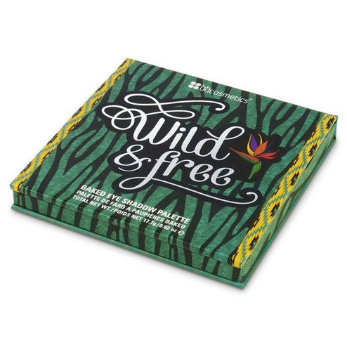 H Cosmetics Wild & Free Baked Eyeshadow Palette