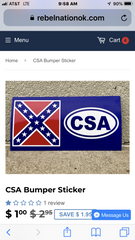 Rebel Nation Rebel and Confederate Flag Store