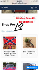 Confederate Flag Store