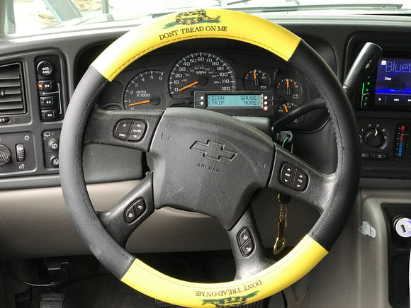 Gadsden Dont Treas On Me Steering Wheel Cover