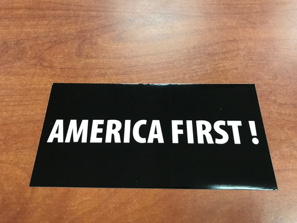 America First Sticker