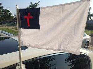 Rebel Nation Christian Car Window Flags For Sale