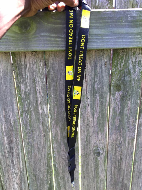 Don't Tread on Me Lanyard for sale at Rebel Nation OK