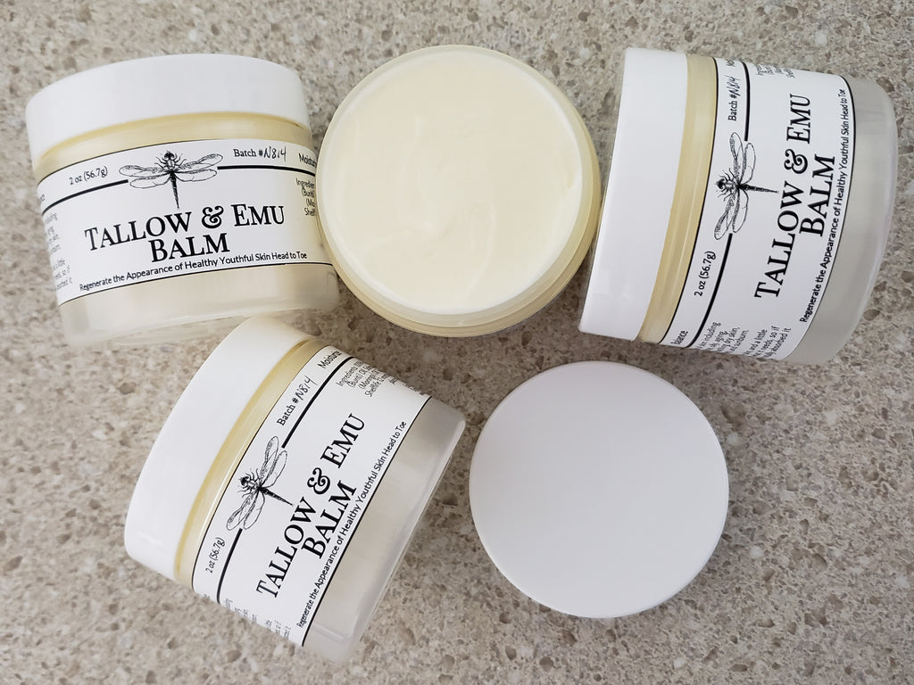 Tallow & Emu Balm - Head to Toe Natural Skin Moisturizer