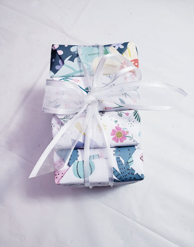 Botanical Garden Artisan Soap Gift Sampler Collection- Limited Edition