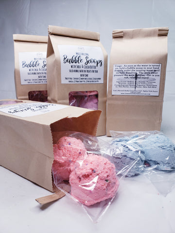Moisturizing Bubble Scoops - Foaming Bath Treatment