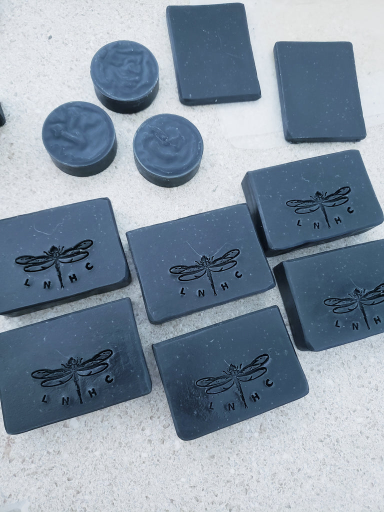 Clarity Face and Body Soap Bar w/Salicylic Acid, Activated Charcoal & Bentonite