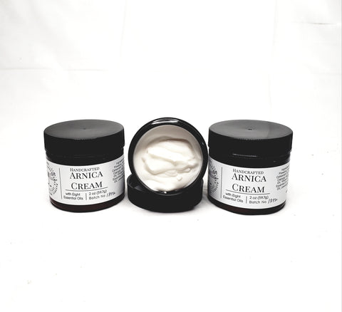 Handcrafted Arnica Cream with Eight Essential Oils
