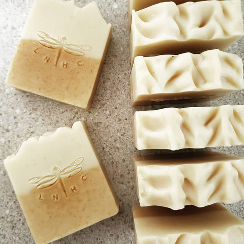 Orange Cream Coconut Milk Soap - 100% Natural w/Essential Oils