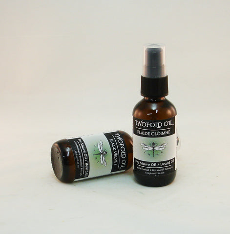 Twofold Oil - Pre Shave Oil/Beard Oil