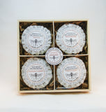 Herb Infused Wet Shaving Soap Sampler - Gift Set