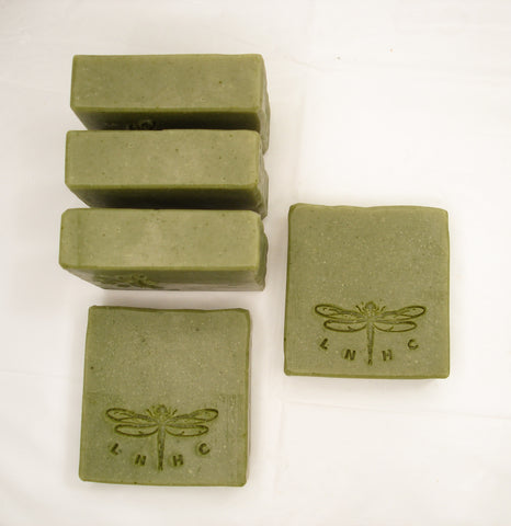Basil Lime & Fir Balsam Essential Oil Soap - 100% Natural