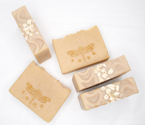 Oats & Honey Goat Milk Soap Unscented - Coconut & Palm Oil Free