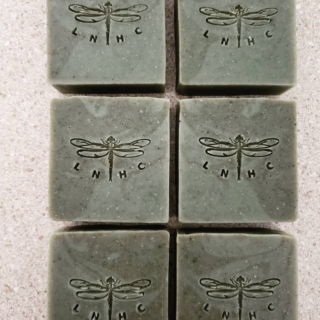 Spearmint & Anise Handcrafted Artisan Soap w/Organic Seaweed