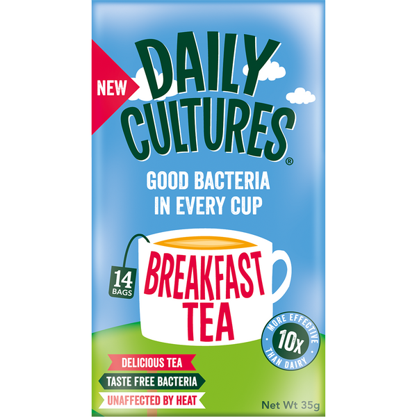 Breakfast Tea (4 Boxes) - 56 Tea Sachets