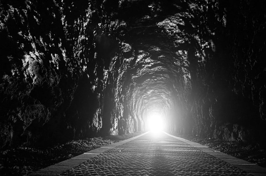 The light at the end of the tunnel!