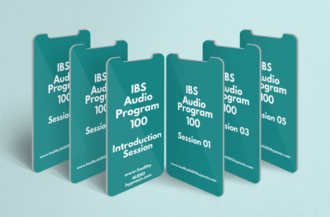 Picture of IBS Audio Program sessions on mobile device