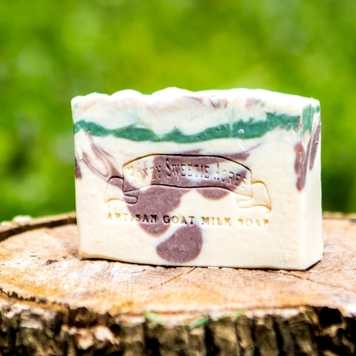 Basil, Sage & Mint Goat Milk Soap