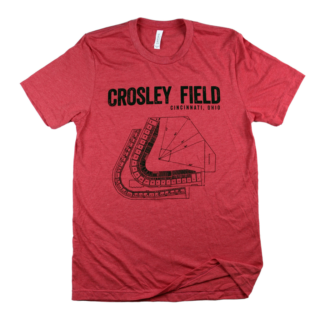 Crosley Field Seating Chart T-Shirt