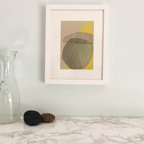 'I Just Want to Add' Framed Drawing