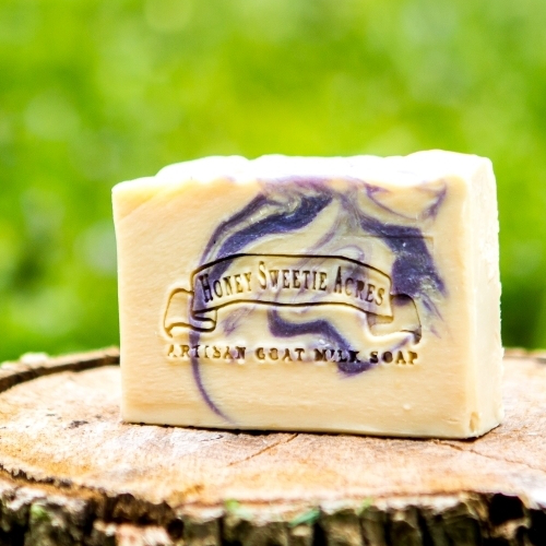 Lovely Lavender Goat Milk Soap