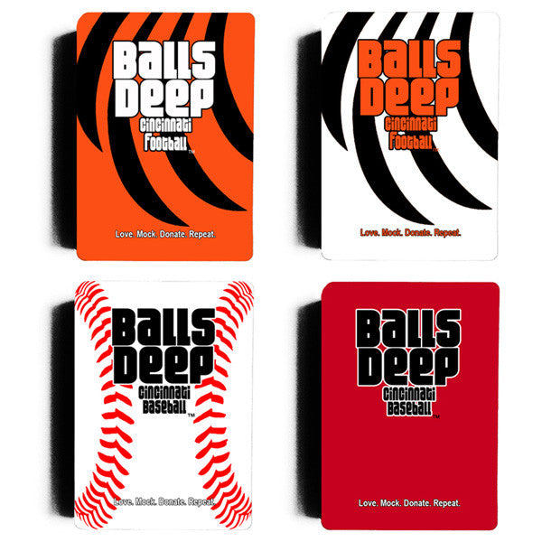 Balls Deep Cincinnati Card