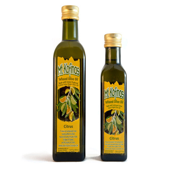 Citrus-Infused Olive Oil