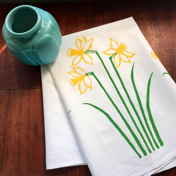 Daffy Down Dilly Tea Towel