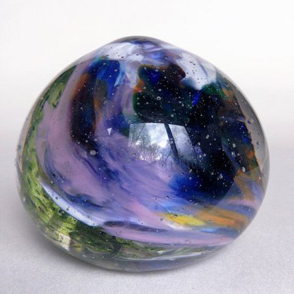 Handcrafted Glass Dragon Egg/Multi