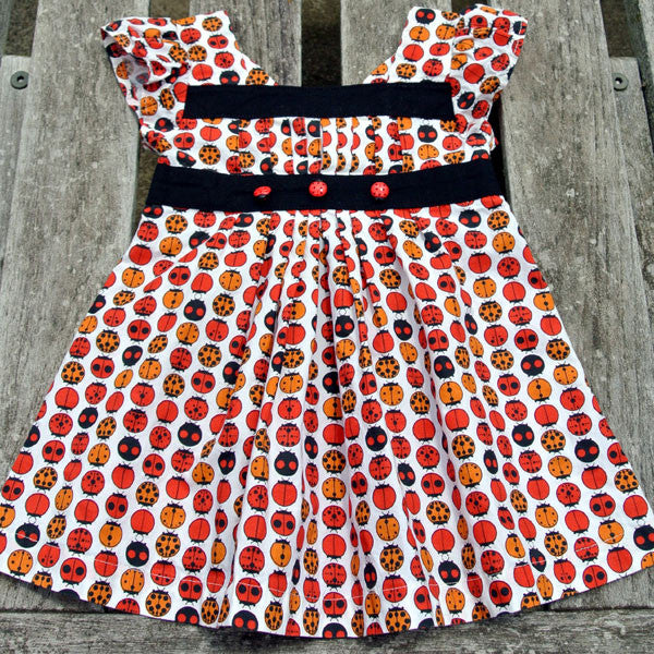 Girl's Ladybug Party Dress