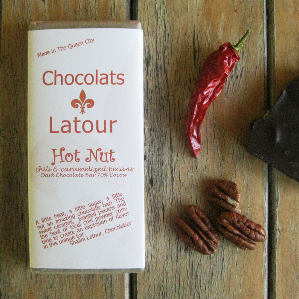 Hot Nut Chocolate Bar