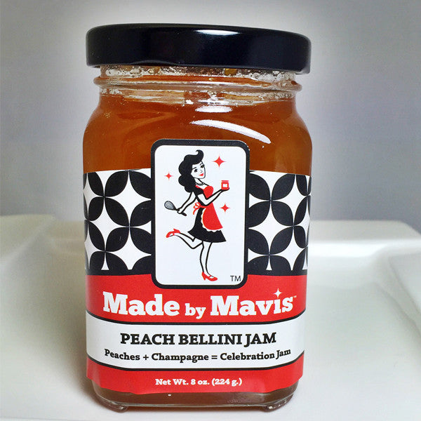Peach Bellini Jam | Made in Cincinnati