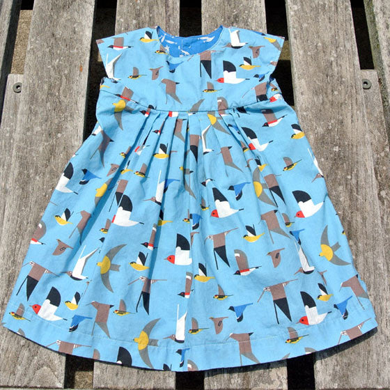 Girls Geranium Bluebird Dress