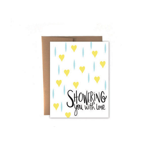 Showering You with Love Card