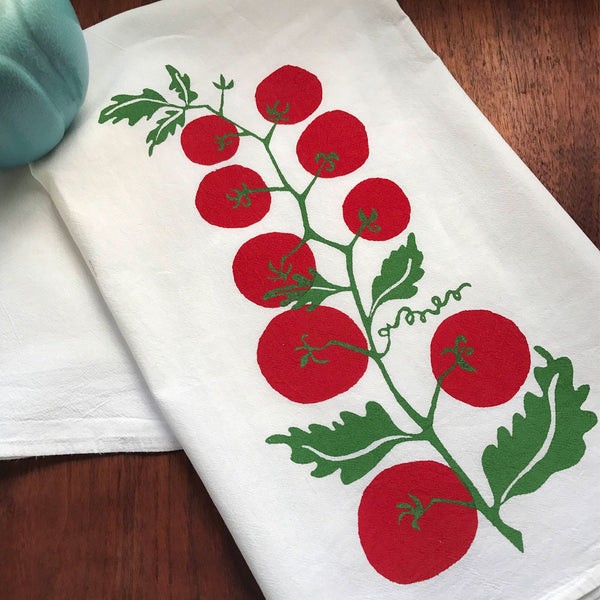 Vine Ripened Tea Towel