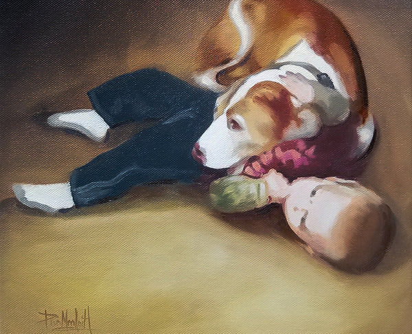 Paint My Pet Dog Portraits