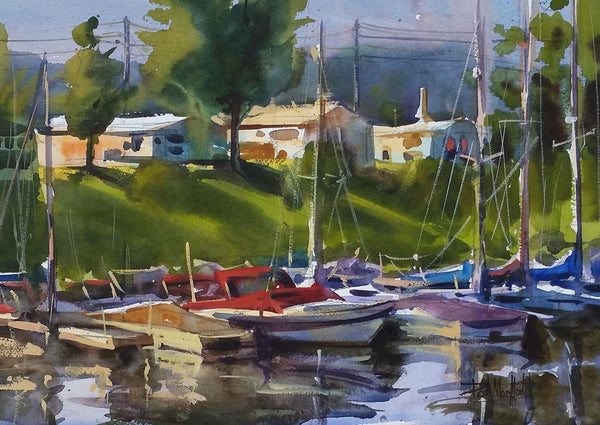 Lake City Harbor - Sara Underhill