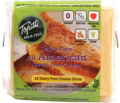 American Soy Cheese Slices, Tofutti (12pcs x 12ct)