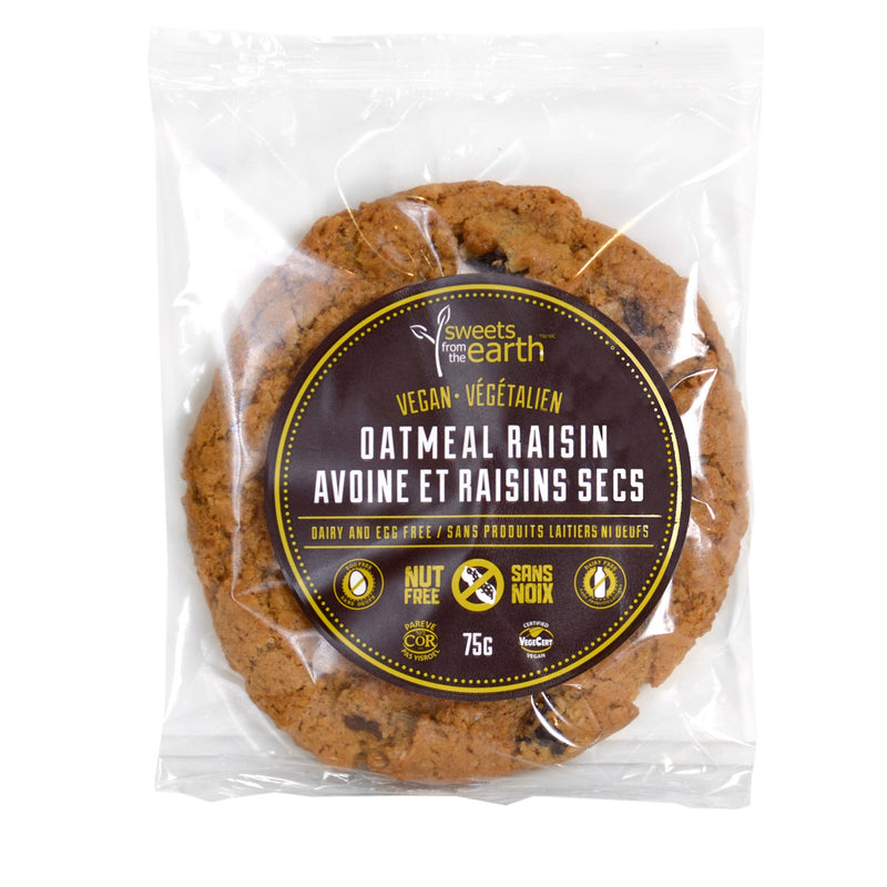 Oatmeal Raisin Cookie, SFTE (75g x 12ct)