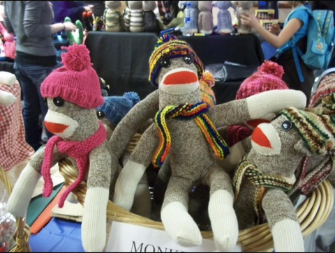 Sock Monkey Festival in Rockford Illinois