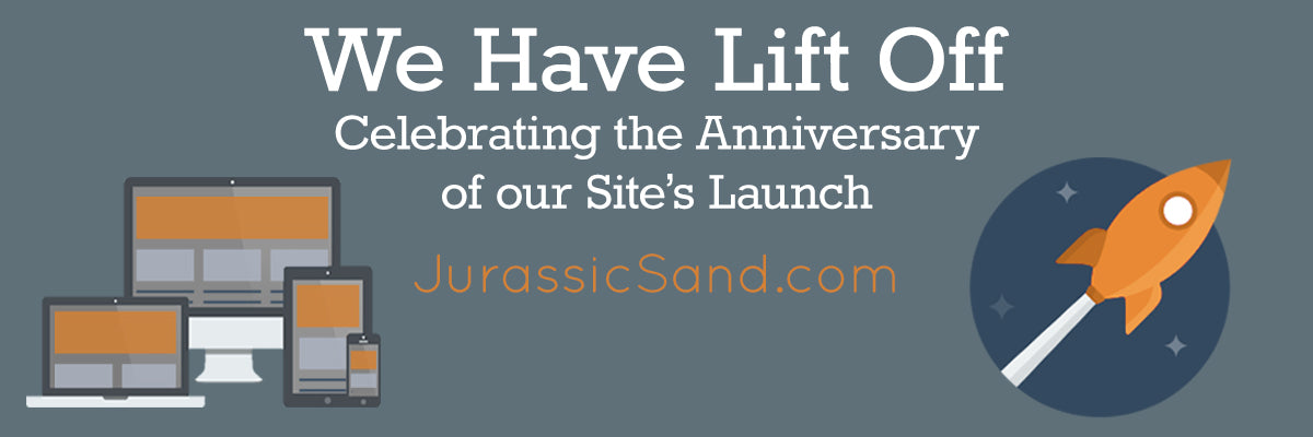 Jurassic Sands Anniversary Celebration