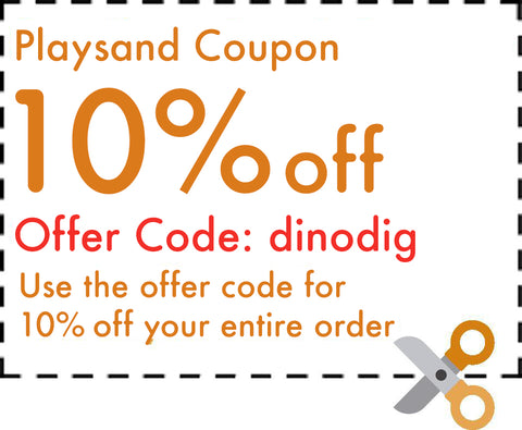 Jurassic Sands Dino Dig Sand & Water Table Coupon Code
