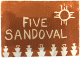 Five Sandoval NIHSDA Jurassic Sand Rock Art Boards
