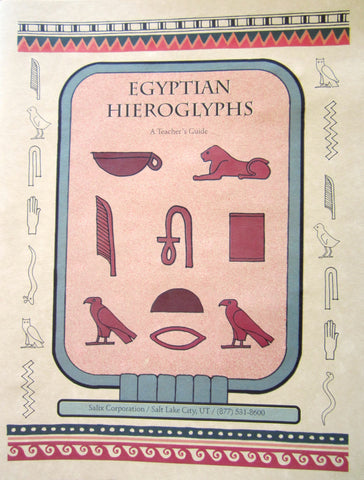 Egyptian Hieroglyphic Teacher's Guide - Jurassic Sands